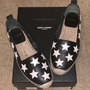 Saint Laurent Star Espadrilles Size 38